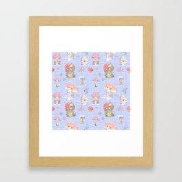 Fairy Doors Framed Art Print