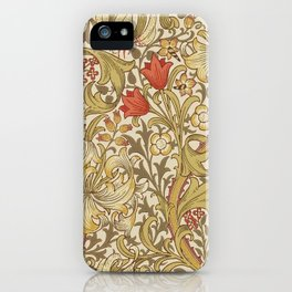 """John Henry Dearle """"Golden Lily"""" 2. iPhone Case"""