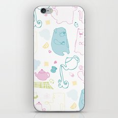 It's A Tea Party iPhone & iPod Skin