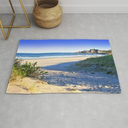 The Towers - Narragansett Town Beach, Rhode Island Rug