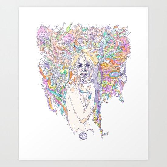 raw color Art Print
