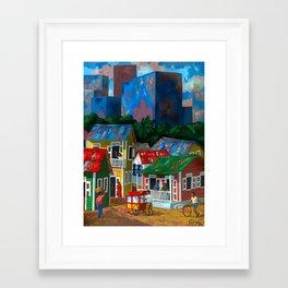 Santurce Framed Art Print