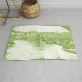Light green painting Rug