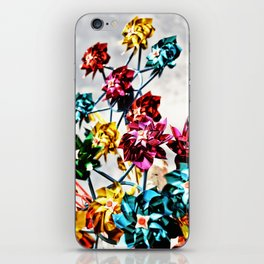 Caught By The Wind iPhone Skin