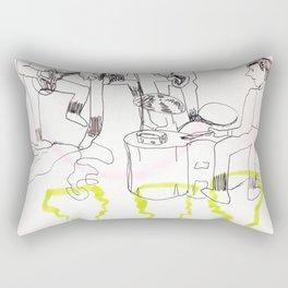 Baby's In Black Rectangular Pillow