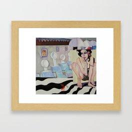 Last Chance Salon Framed Art Print