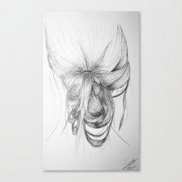 Hair one Canvas Print