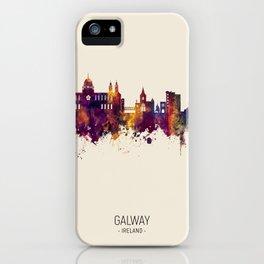 Galway Ireland Skyline iPhone Case