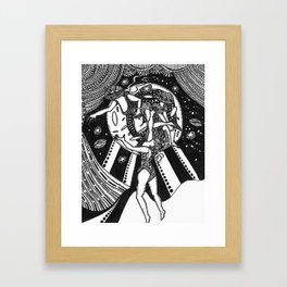 Three Stages  Framed Art Print