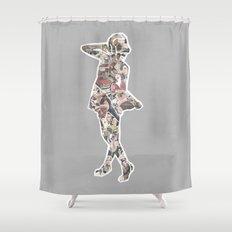 Ads Shower Curtain
