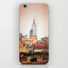 NYC Vintage style iPhone Skin
