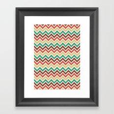 Chevron 1 Framed Art Print