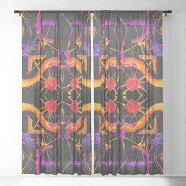 五 (Wǔ) Sheer Curtain
