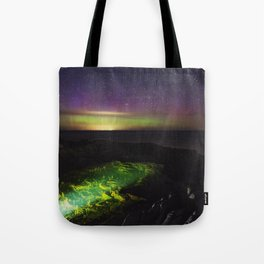 Northern Lagoon Tote Bag