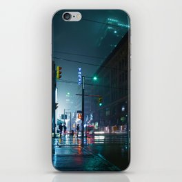 City Street (Color) iPhone Skin