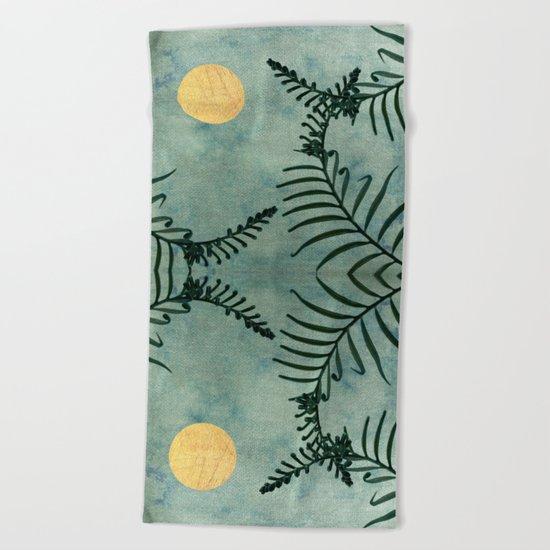 Cycas III Beach Towel