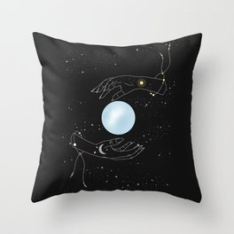 Me & You - Illustration Throw Pillow