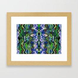 Liquidity 100 Framed Art Print