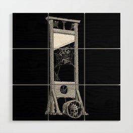 hungry guillotine Wood Wall Art