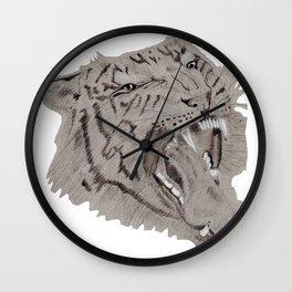 Intimidation Wall Clock