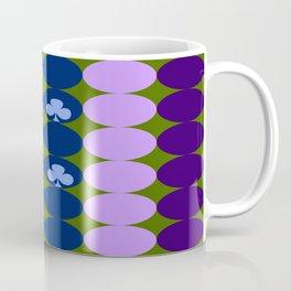 Blue clovers and purple haze Coffee Mug