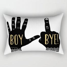 Boy, Bye! Rectangular Pillow