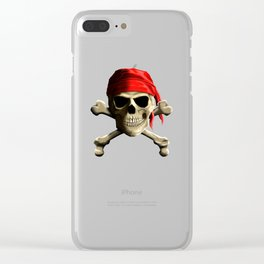 The Jolly Roger Clear iPhone Case