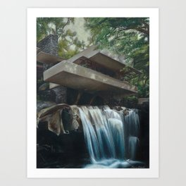 FallingWater Art Print