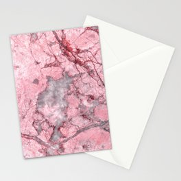 Rose Gold Marble Stationery Cards