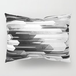 obelisk posture 3 (monochrome series) Pillow Sham