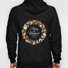 The Circle of Christmas Stuffs Hoody