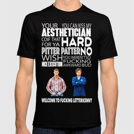 Welcome to Letterkenny T-shirt