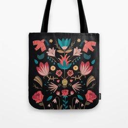 Folk Art Tote Bag