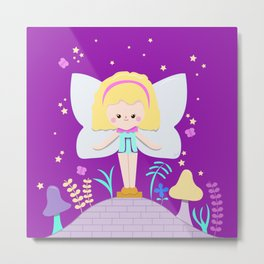 Polly Pocket Fairy Metal Print