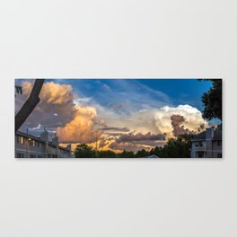 Intense Clouds Canvas Print