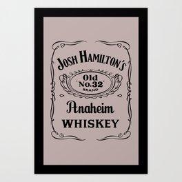 Josh Hamilton New Whiskey Brand   Art Print