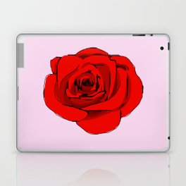 Red Rose. Laptop & iPad Skin