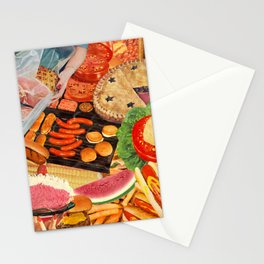 Summer BBQ Stationery Cards