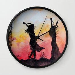 Alabama by Marietjie Viljoen Wall Clock