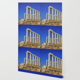 Temple of Poseidon in Sounion near Athens (Greece) Wallpaper