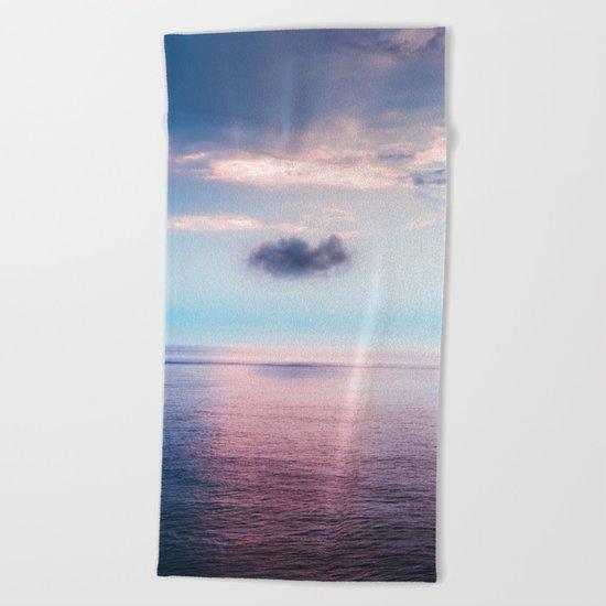 Pastel sea Beach Towel