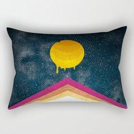 004 - Melting Moon drops Rectangular Pillow