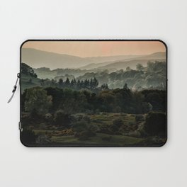 Foggy morning in Lake District Laptop Sleeve
