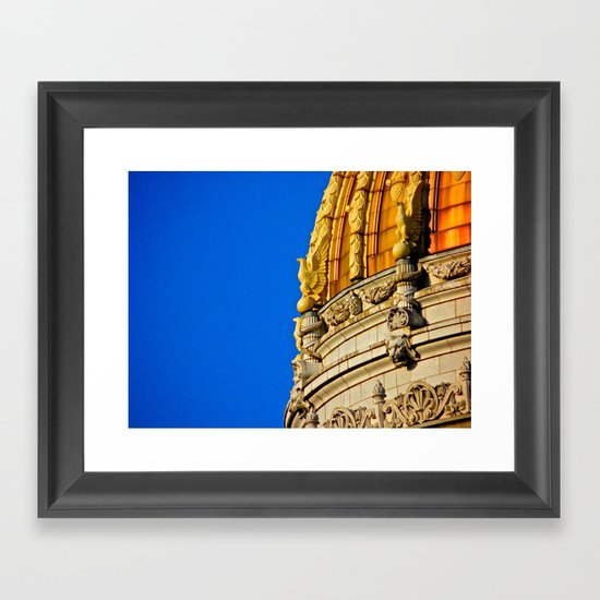 Westmoreland County Courthouse Dome Framed Art Print