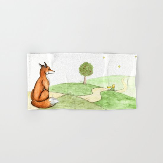 The little Prince and the Fox Hand & Bath Towel