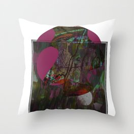 Watch Me Step Out Throw Pillow