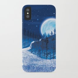 Bluebells Forest iPhone Case