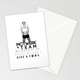 MC Twerk Team Stationery Cards