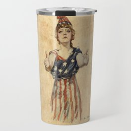 Inviting Patriotism Travel Mug