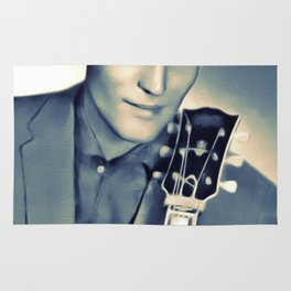 Carl Perkins, Music Legend Rug